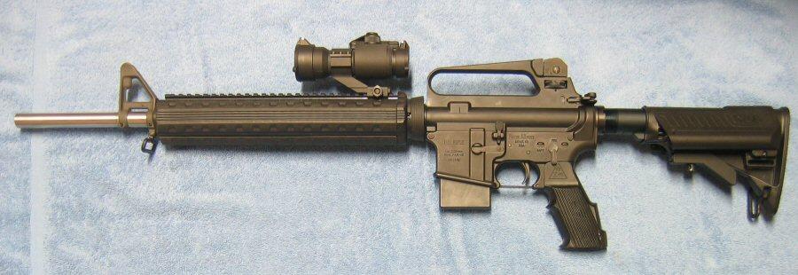 Ar15 carry handle scope scope on ar carry handle calguns net