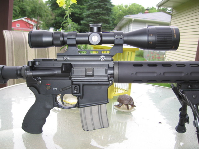 Scope Mounts And Rings For Colt Ar