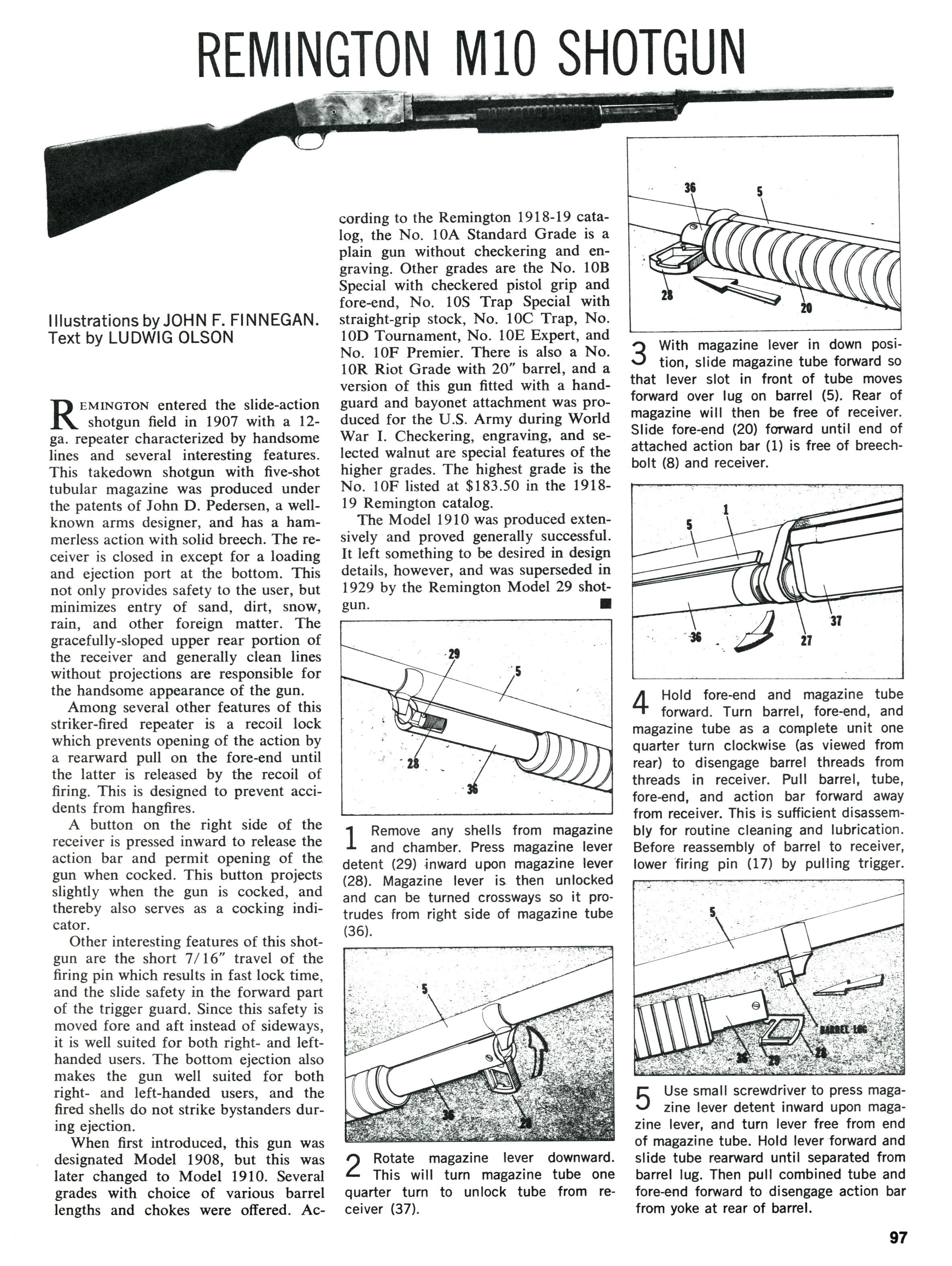 Remington Model 10 Schematic Modern Design Of Wiring Diagram 1100 Parts Shot Gun C R Calguns Net Rh Manual